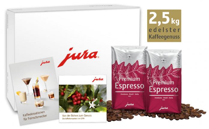 Jura Genusspaket zu Weihnachten 2020. Foto: Jura