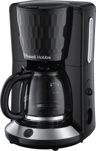 Russell Hobbs Kaffeemaschine im Waben-Design. Foto: Russell Hobbs