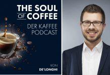 Podcast Soulofcoffee Schwichtenberg. Foto: De`Longhi