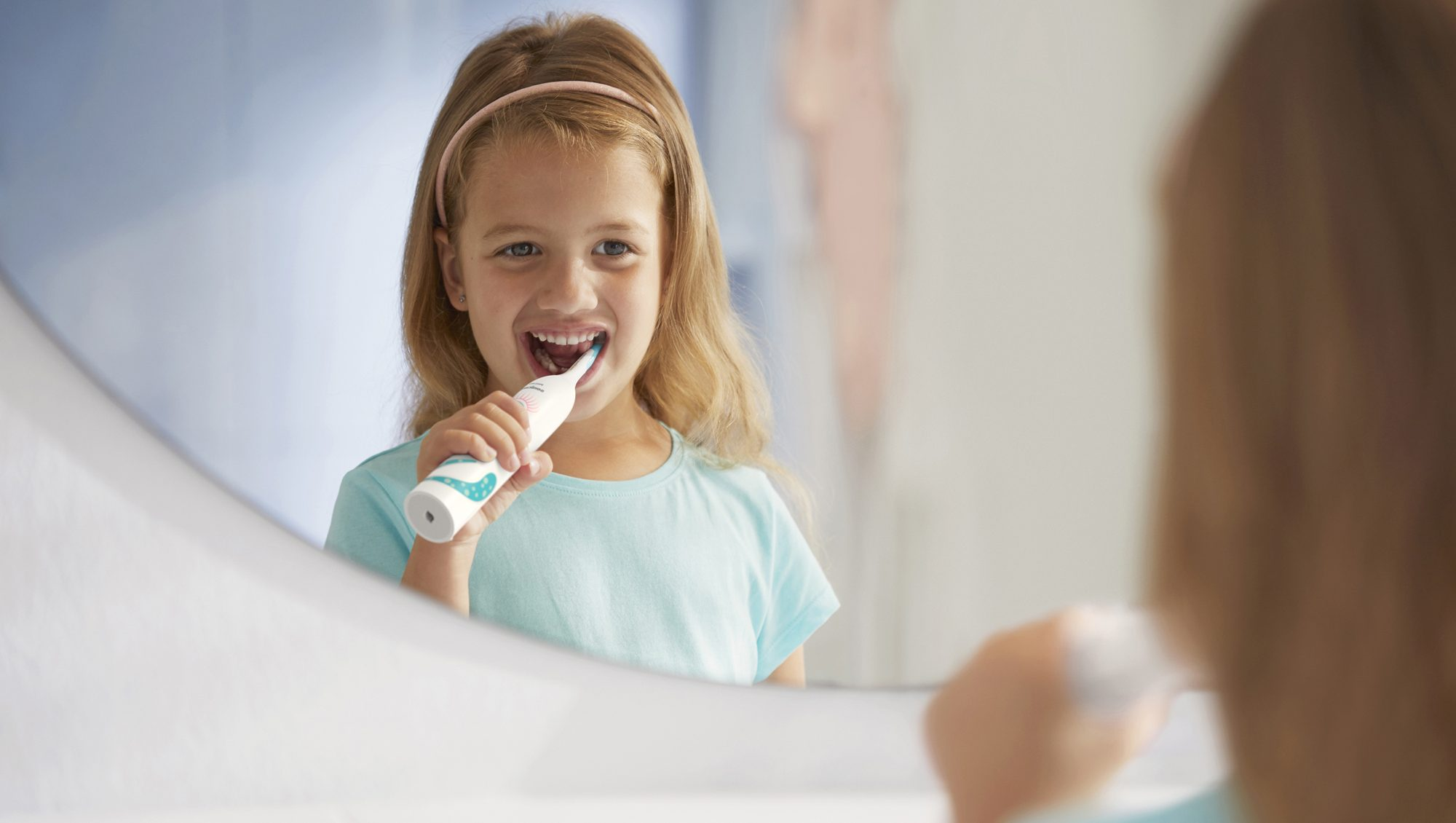 Philips Sonicare for Kids macht Spaß. Foto: Philips