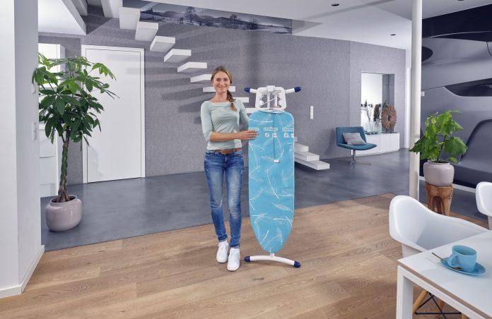 Leifheit Bügeltisch Air Board M Solid Plus mit neuem Bügeltischdesign. Foto: Leifheit