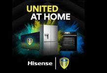 Hisense und Leeds United. Foto: Hisense