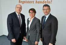 EK Vorstand Martin Richrath, Susanne Sorg, Franz-Josef Hasebrink. Foto: EK Servicegroup