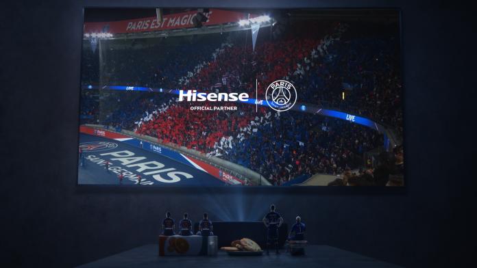 Hisense Live Bold TV-Kampagne. Foto: Hisense