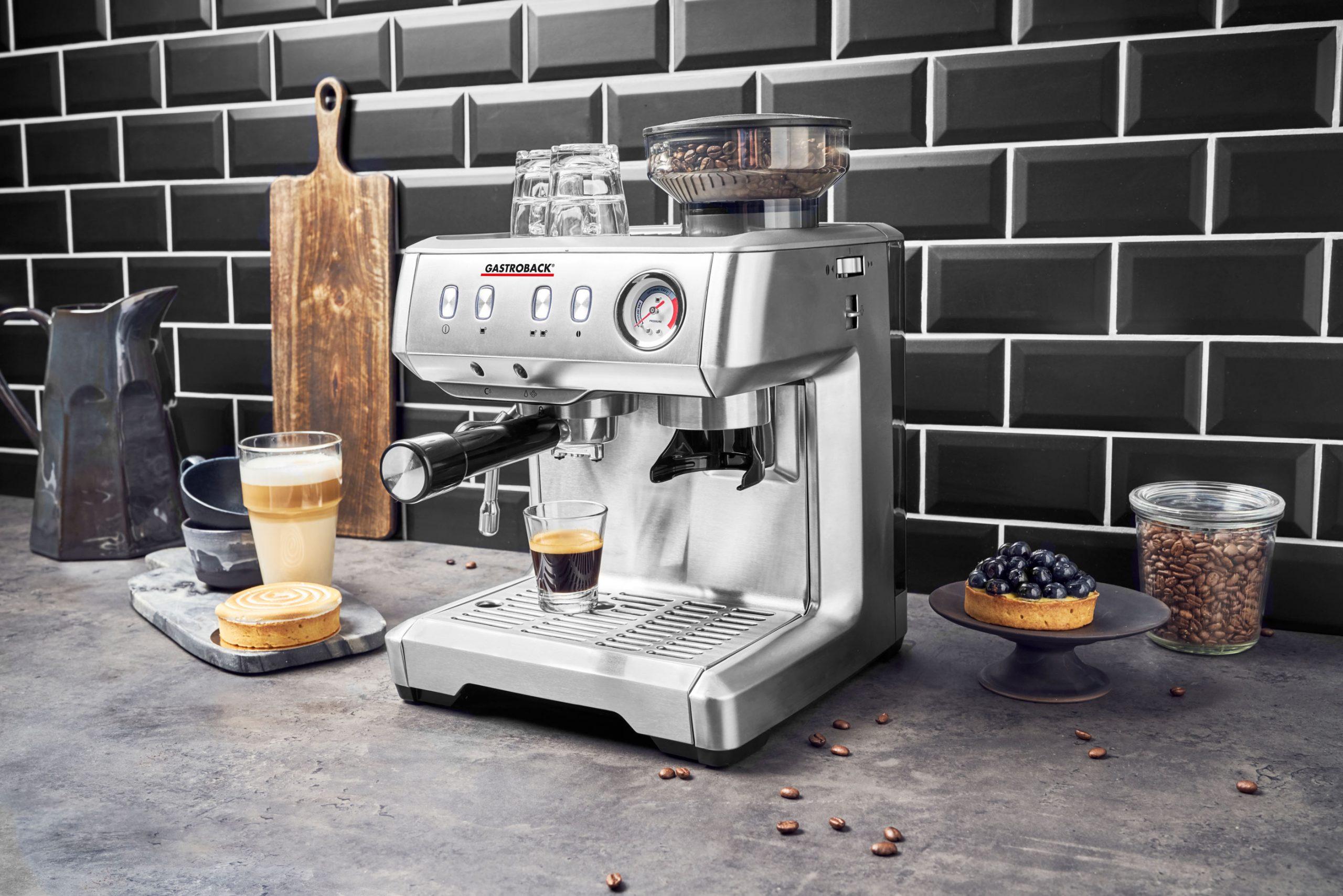 Gastroback Themenspecial Siebträgermaschine Design Espresso Advanced Barista. Foto: Gastroback
