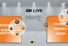 EK Live 2021 digitale Messe. Foto: EK Servicegroup