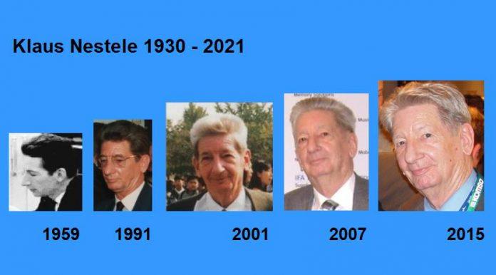 Klaus Nestele 1930-2021