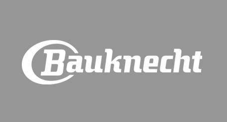Bauknecht Logo grauer Hintergrund