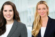 Sarah Heil (links) und Nicole von der Ropp