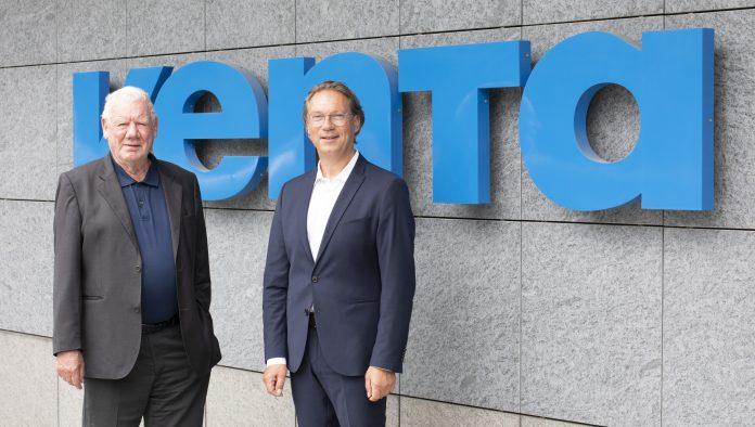 Venta-Gründer Fred Hitzler und CEO Andreas Wahlich 2021