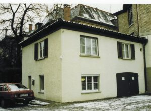 Venta Gründung: Wo alles begann_Die Garage in Ravensburg 1981 Schussenstrasse