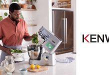 Kenwood Logo - Mann kocht mit Cooking Chef XL Maschine
