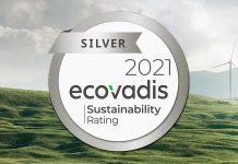 Liebherr erhält EcoVadis 2021 Logo für Nachhaltigkeit
