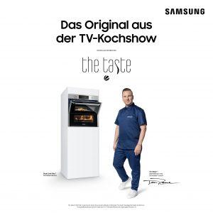 Samsung-Kampagne zu The Taste mit TV-Koch Tim Raue