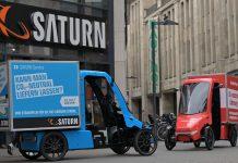 MediaMarkt und Saturn testen E-Cargobikes zur Warenlieferung