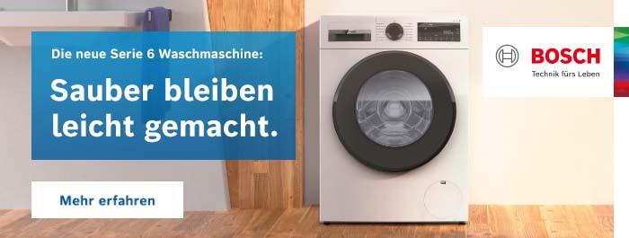 Banner Bosch Waschmaschine
